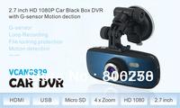 G1W Dash cam 2.7 inch LCD monitor HD 1080P Car Black Box Novatech 96650 with g-sensor