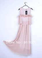 Free shipping/   Han edition dress chiffon Bohemia beach sundress