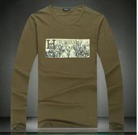 New spring 2014 boy london mens t shirts fashion 2013 men's clothing casual shirt xxxl 5 xl 6xl desigual tomy shirt D288