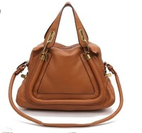 genuine leather the fist layer of cowhide woman messenger shoulder handbag quality bag B26001