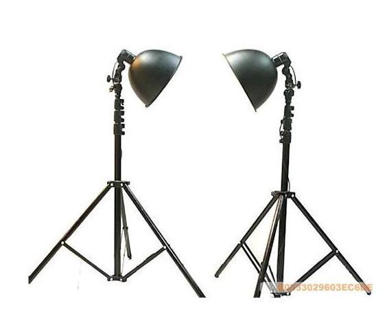 Oversized photography light set 2 27cm lamp cover 2 200cm floor lamp rack(China (Mainland))