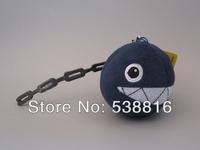 Wholesale 5 pcs/set Super Mario Bros 7 cm Blue Shark Plush Doll Toys Mario Plush Keychain Free Shipping