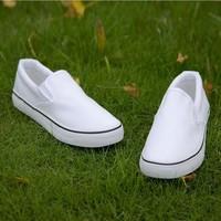 White men and women's shoes couple of canvas shoes pedal nurse shoes cloth shoes