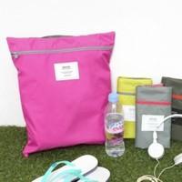 Travel portable waterproof clothing shoes storage bag sorting bags