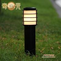 Lawn lamp garden lights garden lights outdoor street lamp plaid lamp waterproof lamp aluminum