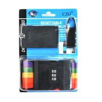 Lounged daily necessities luggage tag password lock box tape piece set