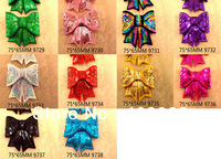 50Y9729 free shipping girls headwear accessories bow-knot shape