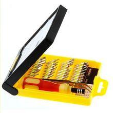 32 in 1 set Micro Pocket Precision Screw Driver Kit Magnetic Screwdriver cell phone tool repair box 83653
