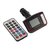 "1pcs Brand New Wireless FM Transmitter USB Slot 1.8"" LCD SD Card Car MP3 Player Remote Control"