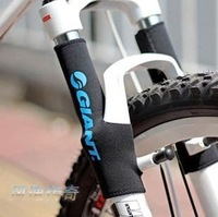 1 Pair 2014 New Free Shipping Cycling Front Fork Protector Mountain Bike Bicycle Front fork Protector Guard Strut Fork Sets