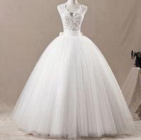 New white/ivory wedding dress custom size 2 4 6 8 10 12 14 16 18 20