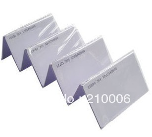 Free Shipping by DHL RF proximity EM ID CARD 125KHZ RFID Card 0.8mm Thin Credit Card Size 500pcs/lot(China (Mainland))