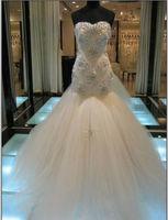 Luxury White/Ivory Wedding Dress