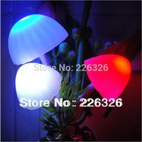 LED Cartoon mushroom  night light Intelligent light induction  Indoor Atmosphere lamp night lamp children room decoration