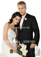 High quality wool customized tuxedo male suits 5 pieces(Coat+Pants+Vest+tie+Shirt)TZ016 wedding suits for men 2014
