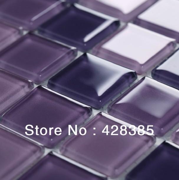 purple glass mosaic tile backsplash promotion shop for promotional