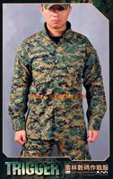 All Win Trigger USMC MCCUU Marpat Jungle Digital Combat Uniform Camouflage Suit+Free shipping(SKU12050231)