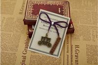Free ship 1lot=40pcs/korean stationery kawaii cute vintage bookmarks  metal bookmark school zakka gift  supplies