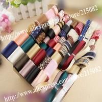 DIY hairwear hairpin kit handmade material bundle ribbon set 54color belts 45pcs clips