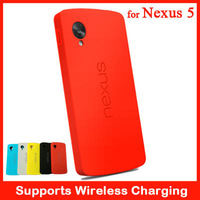 Support Wireless Charging Bumper Case For LG Google Nexus 5 Neo Hybrid Brand New Phone Bag Cover With Retail Box
