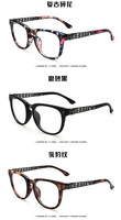 Retro Print Glasses Women Female Glasses Gift for Friend Free Shipping