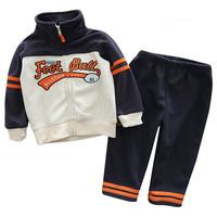 baby boy clothes set coat+pants 6m-24m baby boy sports suit outwear