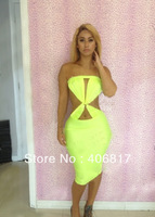 M L XL Plus Size 2014 Spring New Fashion Women Sexy Strapless Bodycon that Dress with Belt Mini Casual Dress free shipping