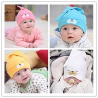 Hot Selling!!! Free Shipping 1Piece Child Sleep Hat Newborn Cap The Baby Kit Lens Cap Baby Cotton Cap