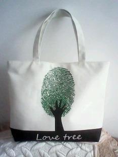 Canvas bag eco-friendly bag one shoulder women's handbag customize bags student bag(China (Mainland))