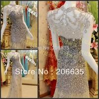 Discount Unique Tassel Luxury evening Dresses Rhinestones  On Sale 25% Off  NEWE-0436