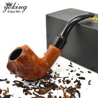 Free Shipping New arrival yoking curved handle smoking pipe smoking set 7 piece set entry level metal smoking pipe pot
