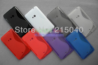 10pcs/lot Best Selling TPU Soft Tai Chi Skin Case for Nokia Lumia 625 Soft TPU Gel S Line Matte Back Cover Case, NOK-026