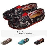 Autumn Casual Flats shoe Women Canvas shoes Free shipping