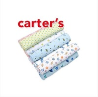 free shipping 5pcs/lot carters cotton flannel baby blankets/ flannel blankets/Receiving Blankets
