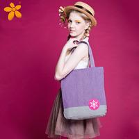 Fashion countryside style embroidered snowflake small fresh shoulder bag women's female handbag