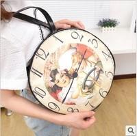 Hot 2014 summer new Korean female bag bag cute shoulder bag printing glossy tide female bag diagonal wild women bag