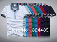 NEW  Men 2014 New Shirts For Mens Casual Fashion brand T Shirts/ Men's T-Shirt /Sport Tshirt /10 color