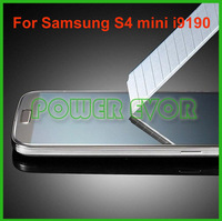 S4 Mini Premium Tempered Glass Film Screen Protector for Samsung i9190 Galaxy S4 Mini Free Shipping By DHL