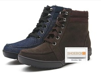Winter women's shoes boots wedges boots the trend of female snow boots cotton-padded shoes thermal 095316314