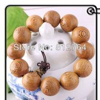 Tibetan Buddha Wenge Wood Beads Bracelets Sandalwood Single Wrap Strand Bracelet Buddhism 10mm 12mm 15mm 18mm 20mm Free Shipping