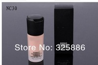 Free shipping makeup liquid Foundation Studio fix fluid SPF 15 Foundation 30ML (NC10,NC20,NC3,NC40)