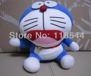 stuffed doraemon stuffed toys kids toy baby toy birthday presents soft toys one piece free shipping(China (Mainland))