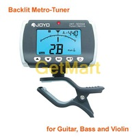 JOYO JMT-9006B Backlit Metro-Tuner for Guitar, Bass and Violin
