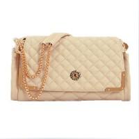 2014 women's fashion handbag genuine leather chain bags women's messenger cross-body sheepskin bags free shipping