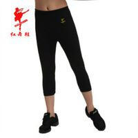 Free shipping Red dance Shoes 2208 dance pants basic Women nylon shorts square dance callisthenics hypertensiveperson pants