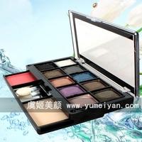 Waterproof Eyeshadow 10 color diamonds