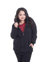 2014 New Fashion Fat Women Big Size Zipper Cardigan Sweater Outwear Coats Women Winter Big Size Clothing