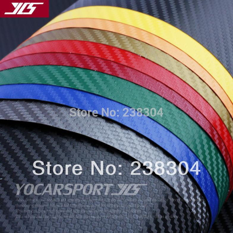 Free shipping 3D Carbon Fibre Vinyl Sheet Wrap Sticker Film Paper Decal car motorcycle sticker 1270mm*200mm Black New(China (Mainland))