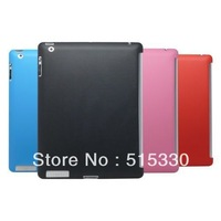 Silicone TPU Gel Snap On Back Case Cover For iPad 2 3 4 Work with Smart Cover Free Shipping