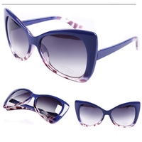 Fashion normic sunglasses personalized cat-eye vintage sunglasses female